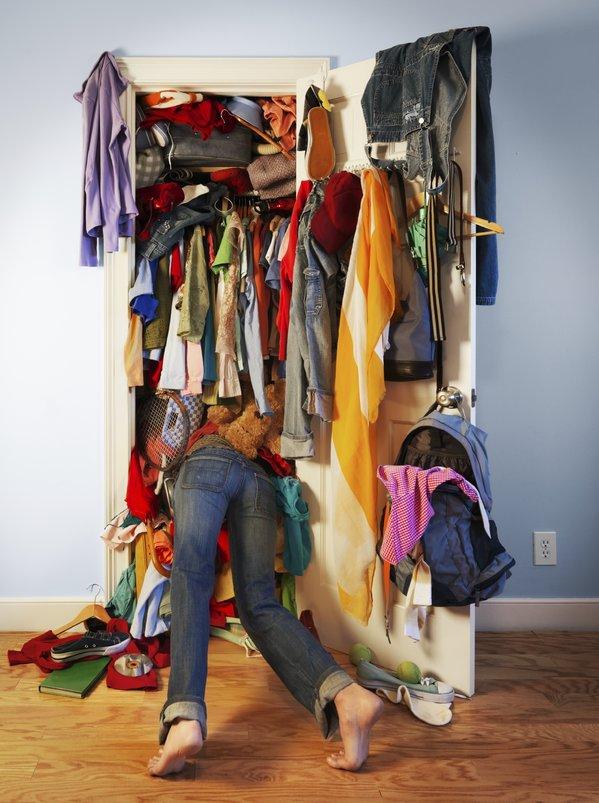 packed closet