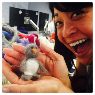 Michele's First Attempt: A Baby Penguin!