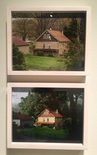 Front Porch View: April 2015 and September 2007 by Ed Panar