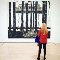 Candace at the SF MoMA