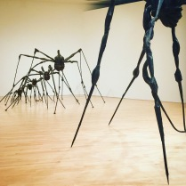 Louise Bourgeois Spiders at the SF MoMA