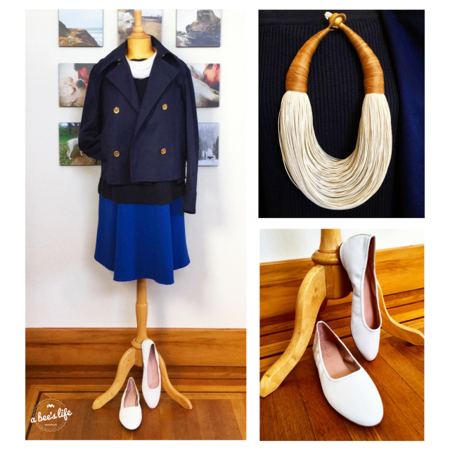 One Dress, Seven Ways –Outfit 1, Sailor