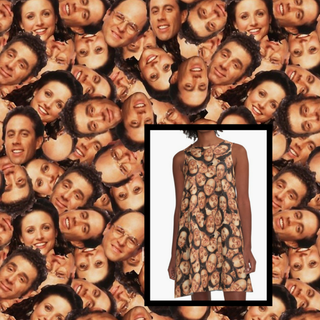 Festivus Dress – Seinfeld Faces