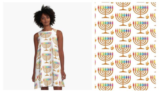 Hanukkah Dress1