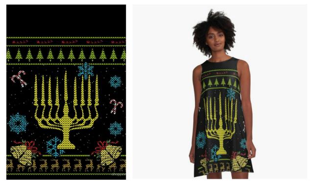 Hanukkah Dress2